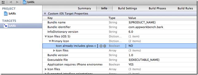 Icon Gloss Effect iOS5
